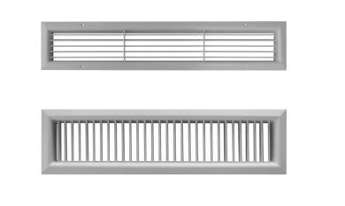 Алуминиеви решетки за камина CBPL - 125 мм