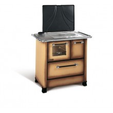 ROMANTICA 3,5 SX Traditional wood burning cooker with glazed steel covering