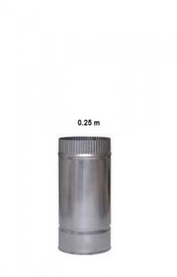 Димоотводни тръби от неръждаема стомана 0.25 м