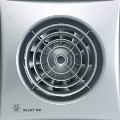 Вентилатор Silent 100 CZ Silver
