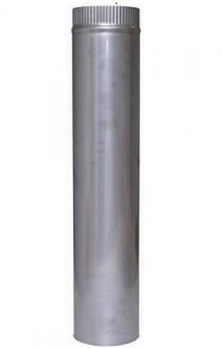 Димоотводни тръби от неръждаема стомана 1 м