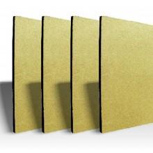 вермикулит, вермикулитни плочи, Огнеупорна плоскост-вермикулит с размер 100 х 61 х 2.5 см, за камини, барбекюта и пещи плоскости, огнеупорен вермикулит