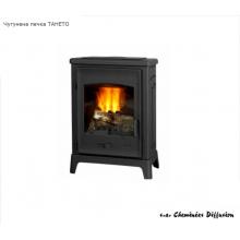 Френска печка на дърва от чугун без водна риза Taheto 12 kW