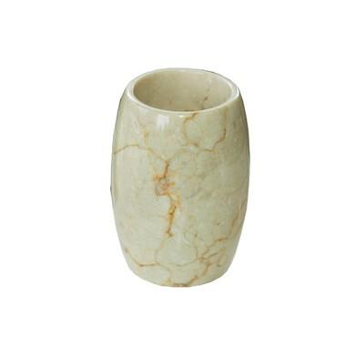 Бяла мраморна чаша