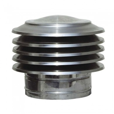 Шапка за комин от неръждаема стомана /инокс/ тип Пагода