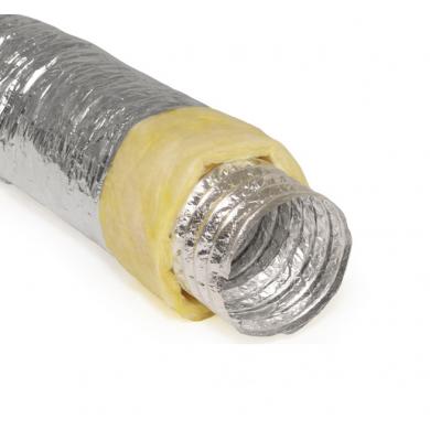 Гъвкав въздуховод AFS с изолация ECOSOFT