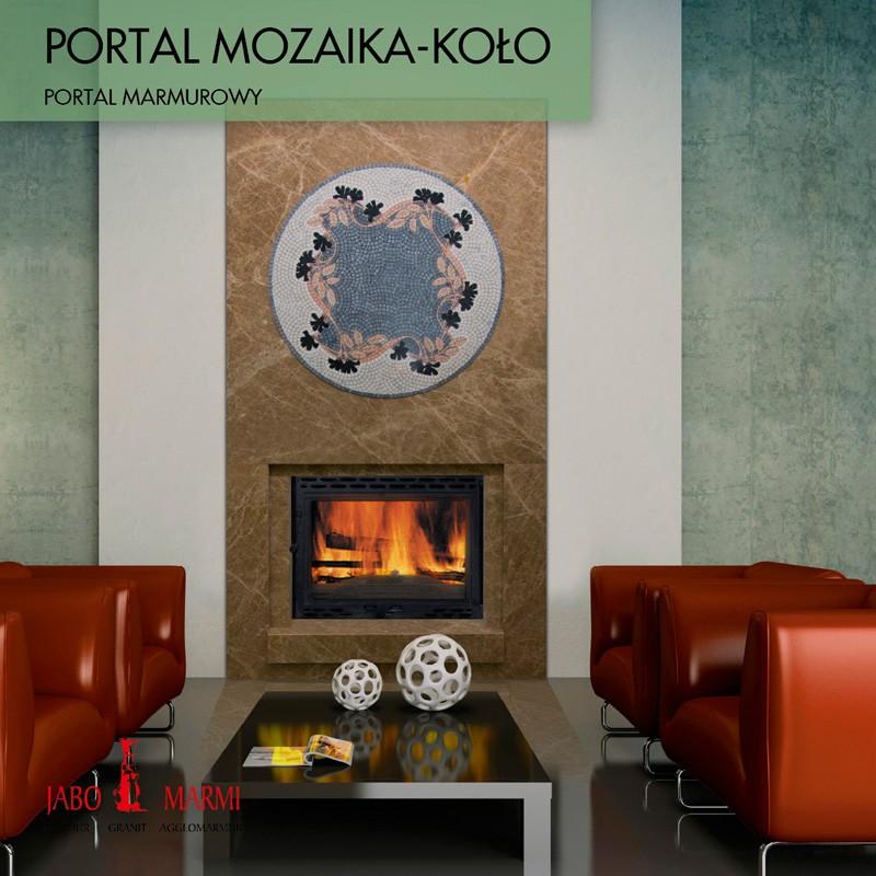Облицовка от мрамор -MOZAIKA-KOLO