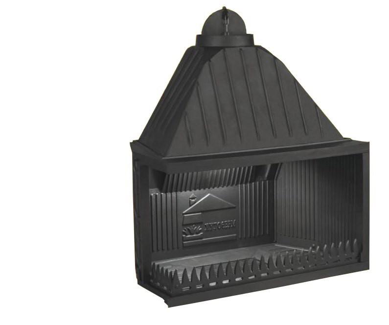 Отворено огнище от чугун за вграждане в облицовка или ниша  Т 90
