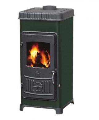 DORA 8 kW печка на дърва от чугун и стомана