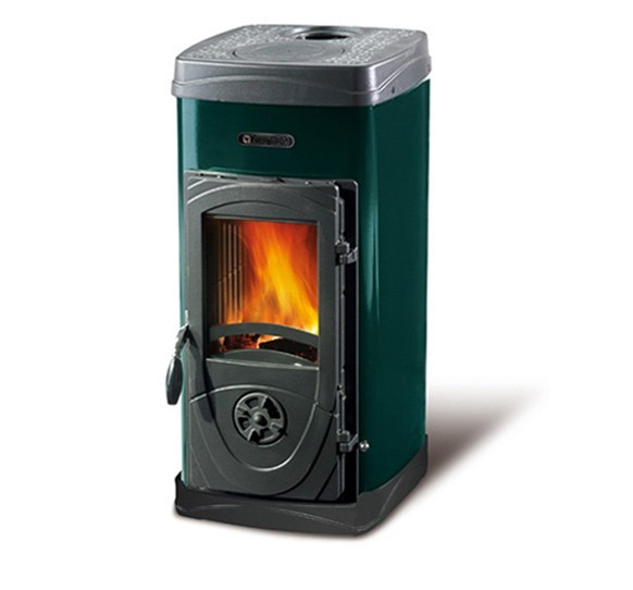 SUPER MAX - Wood burning stove (Bruciatutto) made by La Nordica Italy