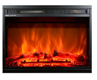 Електрическо огнище за вгрждане Masomi Loran Black 23 inch 1600 W