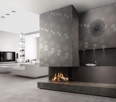 Тристранна газова камина FAIRO ECO-prestige 85 3-sided