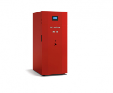HP15 EVO 15 kW Италиански котел на пелети 430 м³