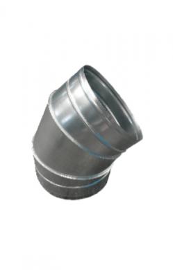 Коляно 45° за спирални тръби
