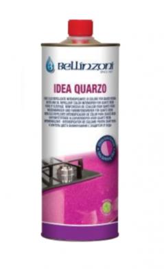 Bellinzoni Idea Quarzo - импрегниращ защитен агент подходящ за защитна обработка на кварцови повърхности и други изкуствено създадени повърхности