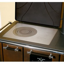 ROMANTICA 4,5 DX - Traditional wood burning cooker with glazed steel covering