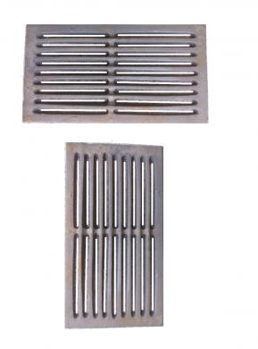 Чугунена скара-решетка за камини, печки и котли 21 х 18 х 1 см