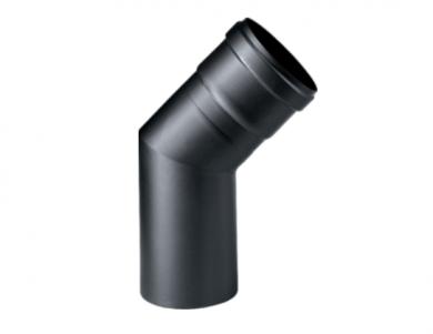 Черно коляно 45° линия EASY инокс