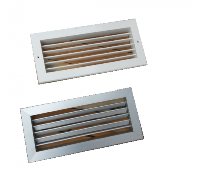 Алуминиеви решетки за камина CBPL - 225 мм