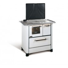 ROMANTICA 4,5 SX - Traditional wood burning cooker with glazed steel covering
