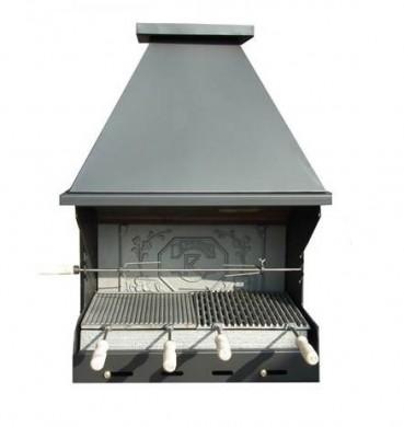 BBQ Morava градиснко барбекю от 4 мм стомана