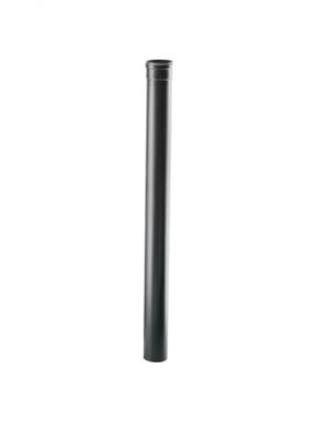 Черни димоотводни тръби - линия Пелети - 1м - 2м