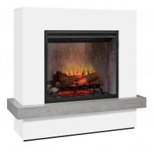 Dimplex Sherwood Electric Fireplace 2 kW комплект облицовка от дърво с вградена електрическа камина