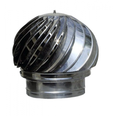 Въртящата шапка за кръгъл комин