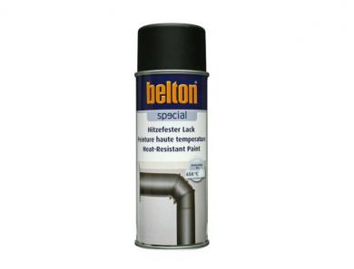 Термоустойчив спрей боя Belton /+650ºC/ черен мат