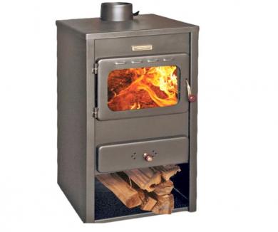 Kupro Stil стоманена печка на дърва 10 kW