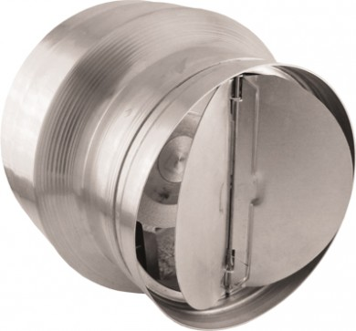 Високотемпературен вентилатор ВОК 150/120  с клапа