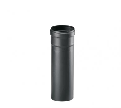 Черни димоотводни тръби - линия Пелети -  25 см и 50 см
