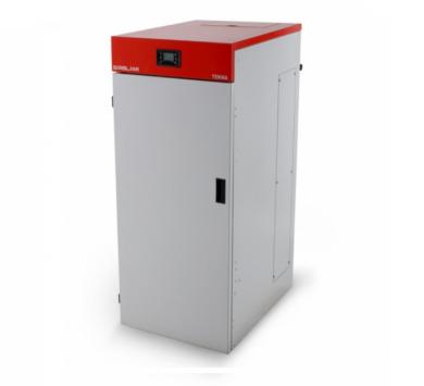 Комбиниран котел на биомаса, дърва и пелети TEKNA HYDRO 14 kW до 34 kW