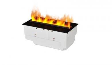 Dimplex Cassette 400/600 LED Optimyst® електрическо огнище за вграждане с реалстичен изкуствен огън