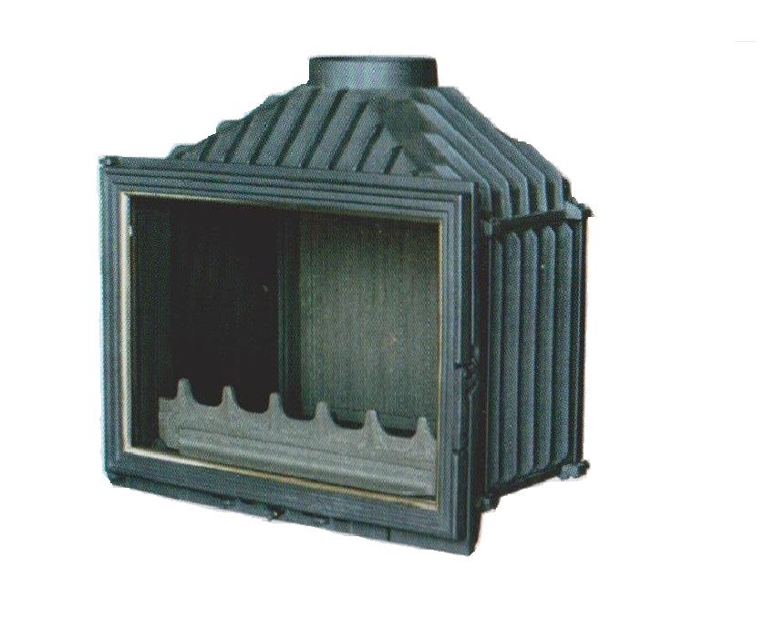 Naska 13 kW българска горивна камера на дърва от чугун