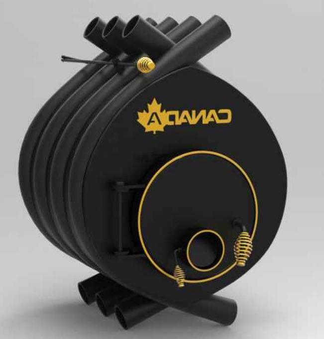 Канадска печка на дърва Canada 00 classic 6 kW /100 м³/