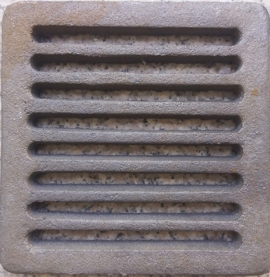 Малки чугунени скари - решетки за камини, печки и котли