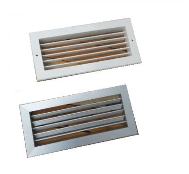 Алуминиеви решетки за камина CBPL - 325 мм