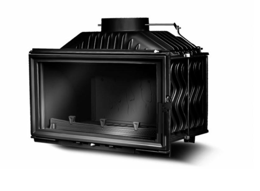Kawmet W15 9.4 kW горивна камера на дърва за вграждане