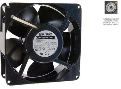 Високотемпературни вентилатори ВА 16 х 2 /с макс дебит 240м³/