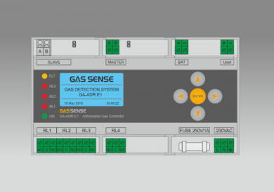 Газсигнализираща централа GА-ADR.Е1