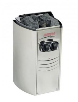 Електрическа печка-нагревател HARVIA VEGA COMPACT 2,3 - 3,5 kW с вградено управление