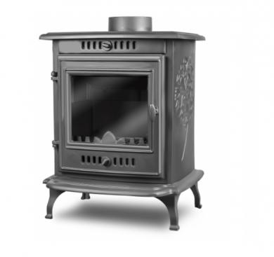 Kawmet P10 6,8 kW EKO чугунена печка на дърва /66 м² 170 м³/