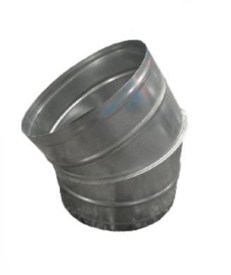 Коляно 30° за спирални тръби
