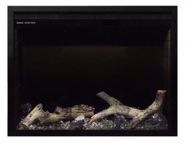 Електрическо огнище за вгрждане Masomi Bliss Black 26 inch 1600 W