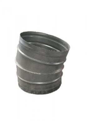 Коляно 15° за спирални тръби