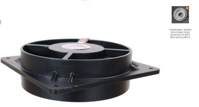 Високо-температурен вентилатор ВА 12 на 2К /с макс.дебит 150м³/