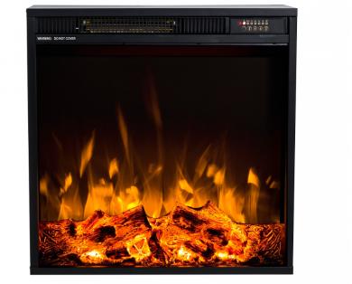 Електрическо огнище за вгрждане Masomi Frank Black 20 inch 1600 W