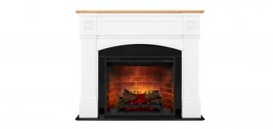 Dimplex Haydn Electric Fireplace 2 kW комплект облицовка с вградена електрическа камина